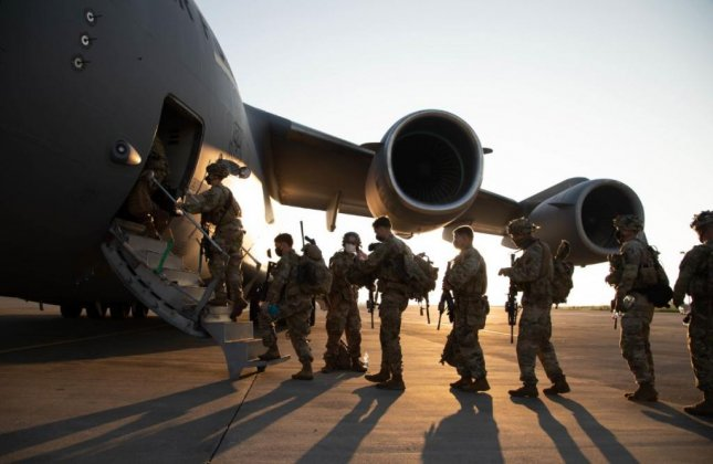 U.S. forces, seen here embarking fort East Africa, killed three members of the al-Shabab extremist group in Jan. 1 airstrikes in Somalia. Photo courtesy of U.S. Africa Command