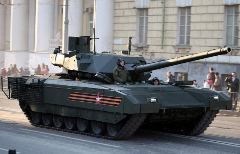 Field trials underway for Russia's next-generation battle tank