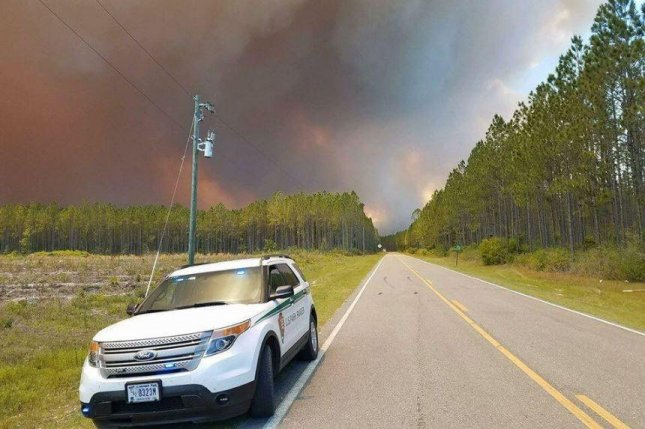 Fire continues to spread in Georgia wildlife refuge