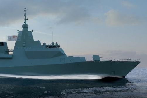 Lockheed Martin announced a contract with the Canadian government to work with BAE Systems, CAE, L3 Technologies, MDA and Ultra Electronics on the Type 26 frigate proposed for the Royal Canadian Navy. Image courtesy of Lockheed Martin