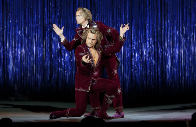 Photo of Steve Buscemi and Steve Carell from The Incredible Burt Wonderstone, courtesy of Warner Bros.