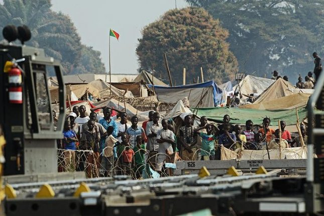 The Central African Republic has formed a new transitional government in an attempt to improve stability after an outbreak of violence that began in 2013 has resulted in the deaths of thousands and the displacement of an estimated one million people. (U.S. Air Force/SSgt. Ryan Crane)