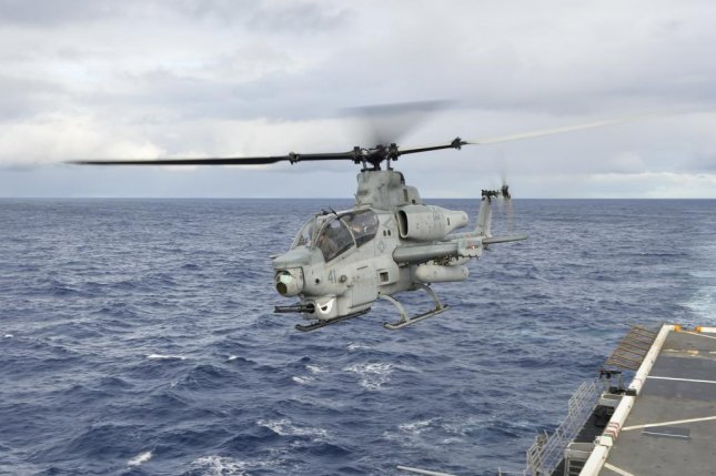 According to Bell Helicopter, the AH-1Z is the world's only attack helicopter with a fully integrated air-to-air missile capability. U.S. Navy photo by Petty Officer 3rd Class Amanda Chavez
