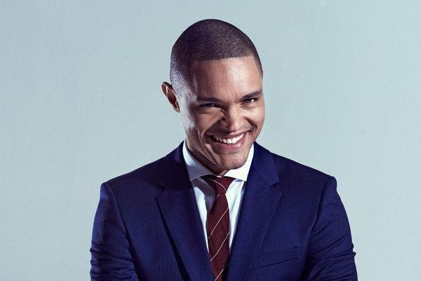 New 'Daily Show' host Trevor Noah appeared on 'The Late Show with Stephen Colbert' Thursday to discuss some advice Jon Stewart had given him and to give his take on the recent Republican debate. Photo courtesy of Comedy Central.