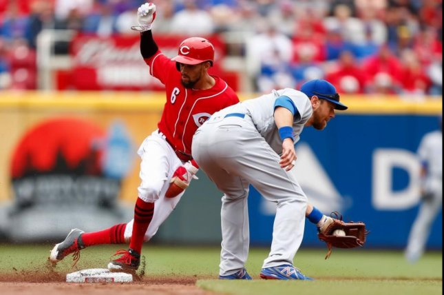 The Reds snapped a four-game losing streak with a victory over the Cubs on Sunday. Photo courtesy Cincinnati Reds via Twitter