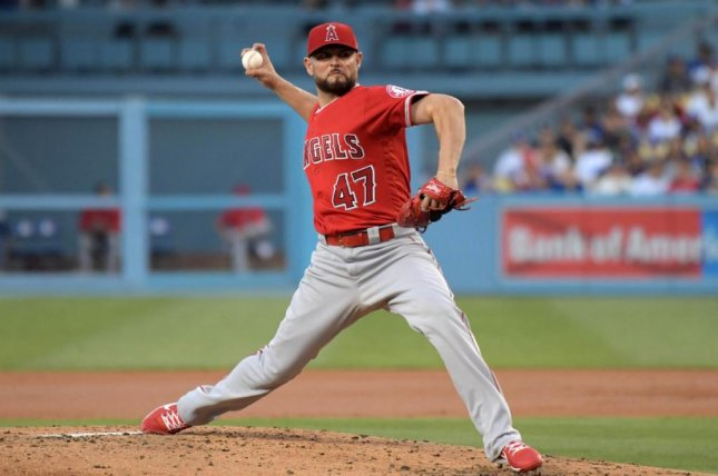 Ricky Nolasco (3-9) pitched 6 1/3 shutout innings as the Angels won the first game of their interleague series against the Dodgers. Photo courtesy of Los Angeles Angels/Twitter