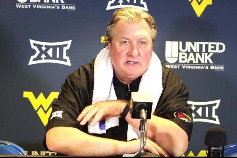 West Virginia coach Bob Huggins. (WVU Sports/YouTube)