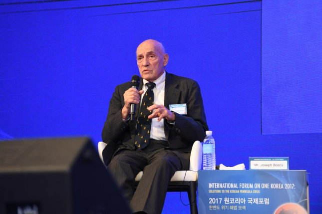 Joseph A. Bosco, senior associate of the Center for Strategic and International Studies, says China is the key to resolving the North Korea nuclear crisis. Photo courtesy of Global Peace Foundation