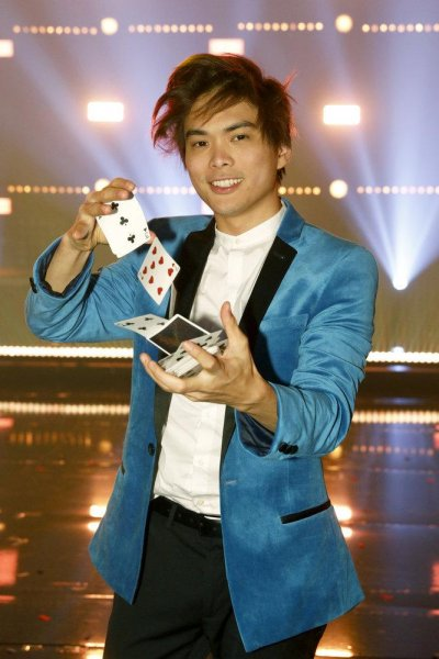 Shin Lim was crowned the winner of America's Got Talent Wednesday night. Photo by Trae Patton/NBC