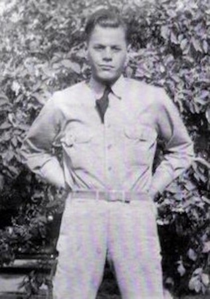 Army Sgt. Cread Shuey of Kansas died in September 1942 in a Philippine prisoner of war camp. File Photo courtesy of the Defense POW/MIA Accounting Agency