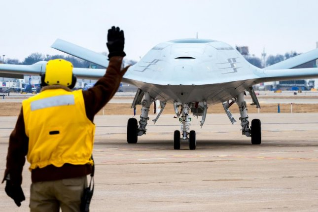 Boeing has received an $84.7 million deal to provide three more MQ-25 unmanned aerial refuelers for the Navy. Photo courtesy of Boeing