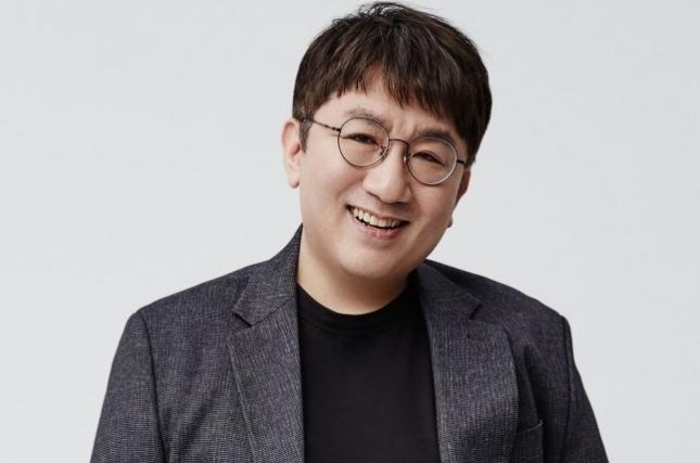 HYBE founder Bang Si-hyuk has taken the ninth position in the country's stock-rick list. HYBE is a music label for South Korea's popular boy group BTS. Photo courtesy of HYBE