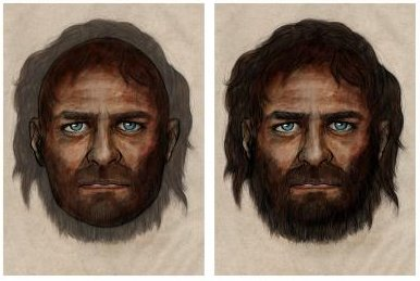 Ancient Europeans were dark-skinned, had blue eyes and may have been lactose intolerant, according to an analysis of 7000-year-old skeletons La Brana 1 and 2 in Spain. (Credit:PELOPANTON / CSIC)