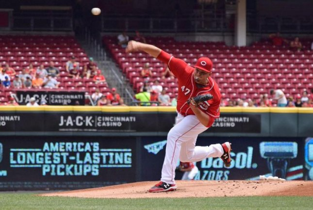 Cincinnati Reds pitcher Sal Romano allowed one run in six innings, lifting Cincinnati to a 6-3 victory over the Miami Marlins in the finale of a three-game series at Great American Ball Park. Photo courtesy of Cincinnati Reds/Twitter