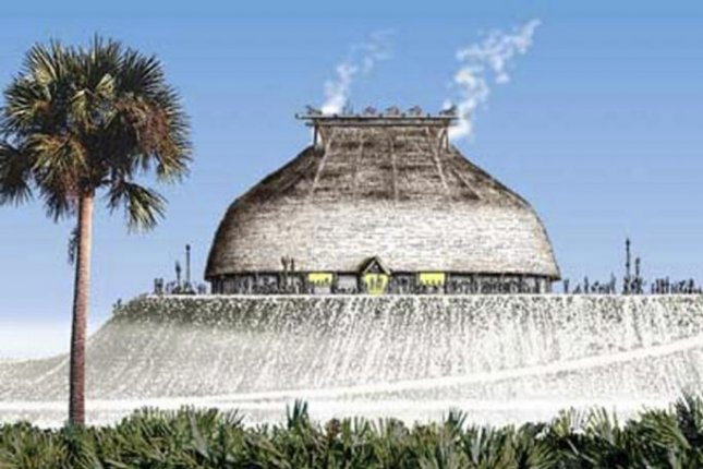 A new study says Florida's Calusa tribe built fish enclosures to amass surplus food, allowing its society to flourish and build structures such as the king's manor on Mound Key. Image courtesy of Merald Clark/Florida Museum of Natural History