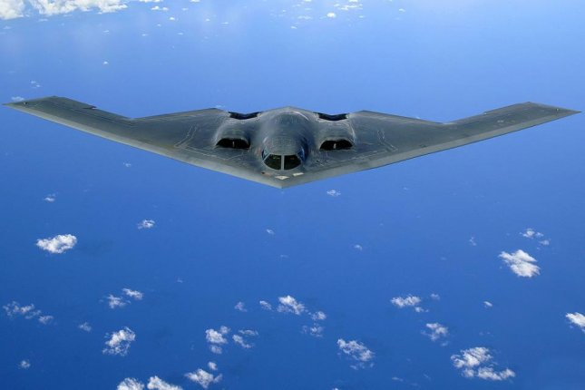 An upgrade to weapons management software on B-2 bombers is in the works. U.S. Air Force photo/Staff Sgt. Bennie J. Davis III.