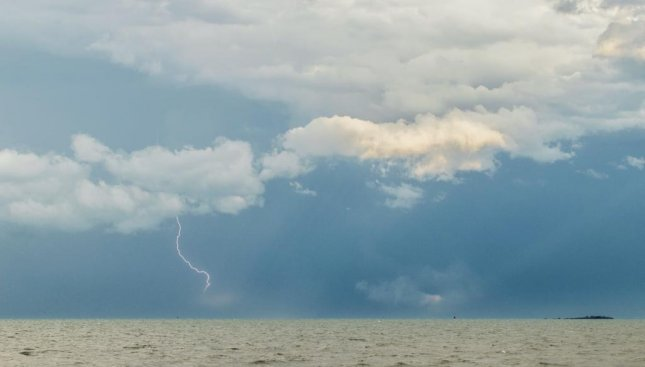A five-year-old boy was killed by a lightning strike on the Outer Banks of North Carolina Sunday. The family was on vacation and taking shelter from an incoming storm when the boy was hit. He died a short time later in a hospital. Photo by Shane Ocean