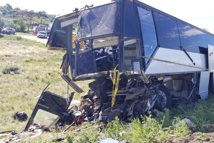 2 dead, 13 injured in Colorado bus crash - UPI com