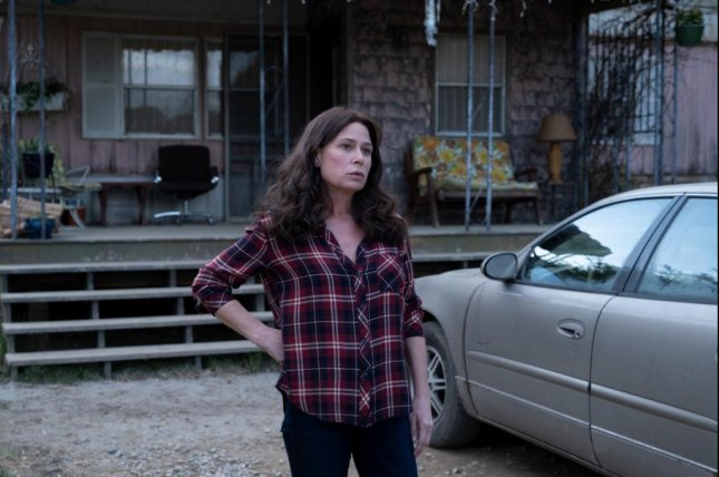 Grace Poe (Maura Tierney) is faced with crisis in her town and her family. Photo courtesy of Showtime