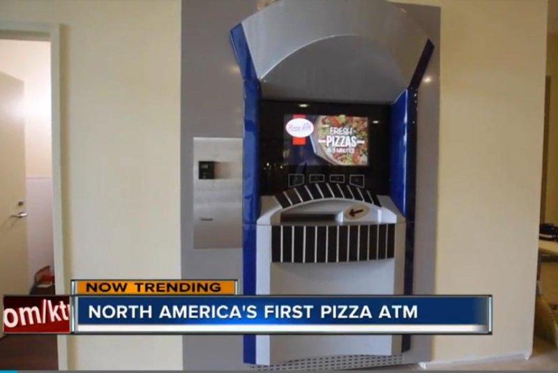 Ohio university's 'Pizza ATM' cooks and dispenses pies on demand