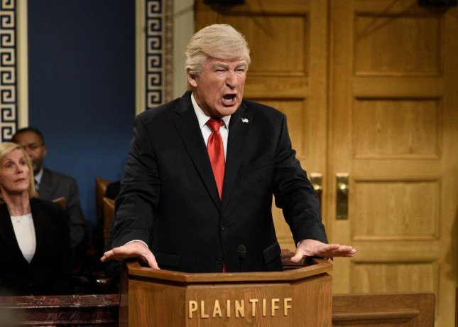 Alec Baldwin played U.S. President Donald Trump in this weekend's edition of Saturday Night Live. Photo by Will Heath/NBC