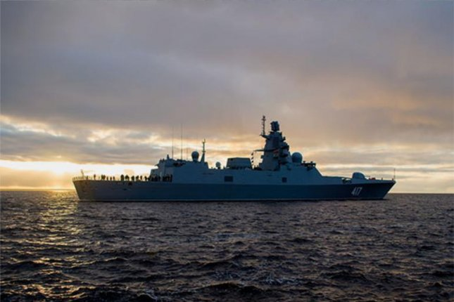 The Kremlin expects to receive six frigates of Admiral Gorshkov's type by 2025. Photo courtesy of Russia's Ministry of Defense