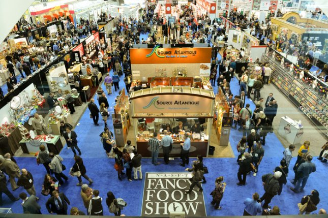 The National Association for the Specialty Food Trade says this year's Winter Fancy Food Show in San Francisco was the largest in its 38 year history, with 80,000 products on display. Jan. 21, 2013. (NASFT)