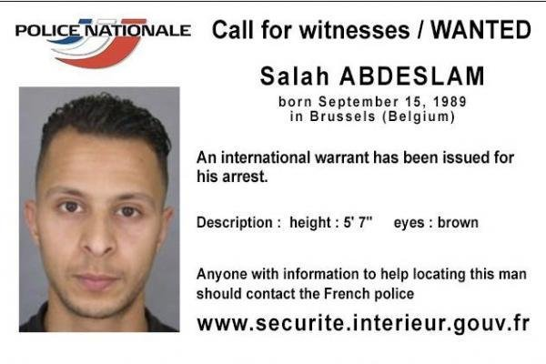 Salah Abdeslam has been criticized by his lawyer as a simple-minded individual. Abdeslam is accused of taking part in the Islamic State's Nov. 13 attacks in Paris, where 130 people were killed. Photo courtesy of Belgian Federal Police
