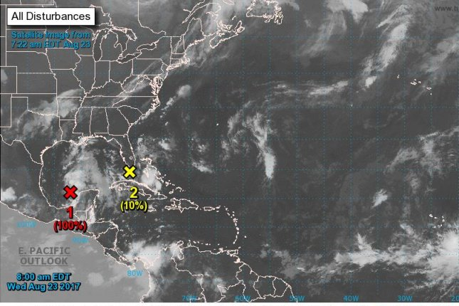 Tropical depression forms in the Caribbean