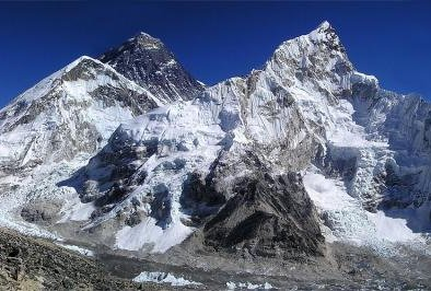 Single-use plastics like soda bottles will no longer be allowed on or around the Nepal side of Mount Everest, beginning in January. File Photo by Simon/Pixabay