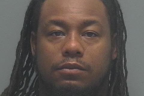 Former Florida Gators football star Tony Joiner was arrested Saturday and faces second-degree murder charges in his wife's death. Photo courtesy of Fort Myers Police Department/Twitter