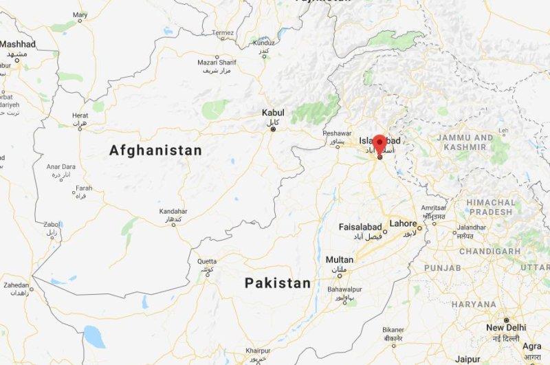 The crash occurred near Rawalpindi, where the Pakistani military's headquarters are located. Photo courtesy of Google Maps/Website