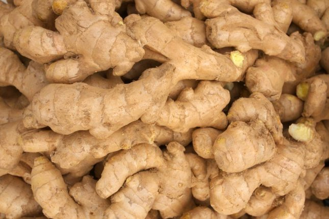 Used for centuries for nausea and as a digestive aid, researchers found nanoparticles derived from ginger prevented IBD symptoms in mice and enhanced healing of intestinal tissue. Photo by chanwangrong/Shutterstock