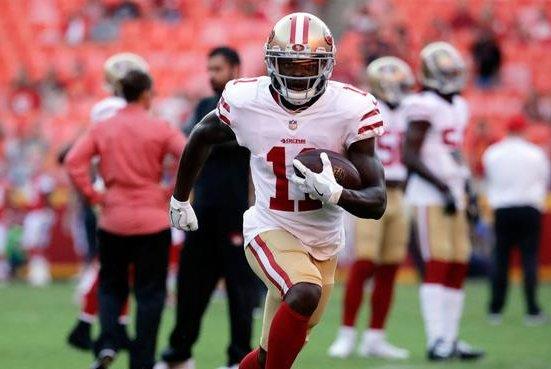 f2cbeaa0449 San Francisco 49ers WR Marquise Goodwin s track suspension won t affect NFL  career - UPI.com