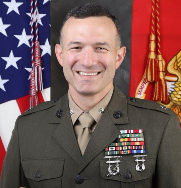 Lt. Col. Michael Regner, commanding officer of a Marine Corps battalion in which nine men died in July in a training accident, was relieved of command on Tuesday. Photo courtesy of U.S. Marine Corps