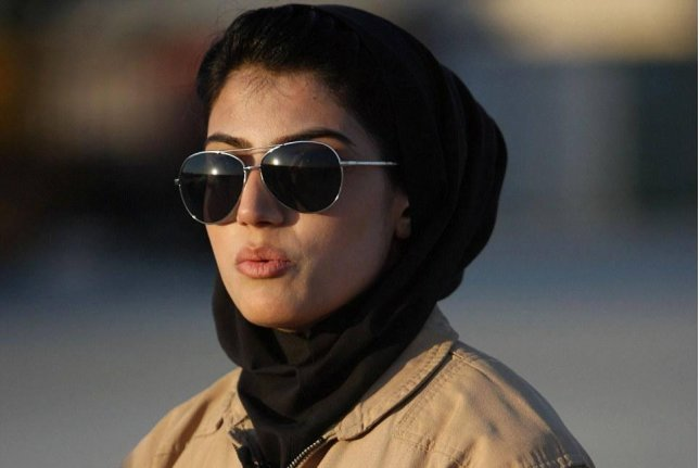 Niloofar Rahmani, an Afghan air force captain who in 2013 became Afghanistan's first fixed-wing pilot, has applied for U.S. asylum over fears for her safety, citing death threats against her. Photo courtesy of Niloofar Rahmani