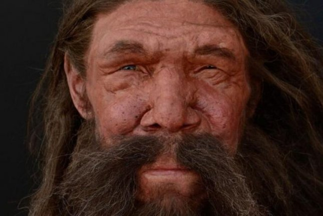 New research suggests the hybrid offspring of Neanderthals and anatomically modern humans would have been healthy and fertile. Photo by Kennis and Kennis Reconstructions