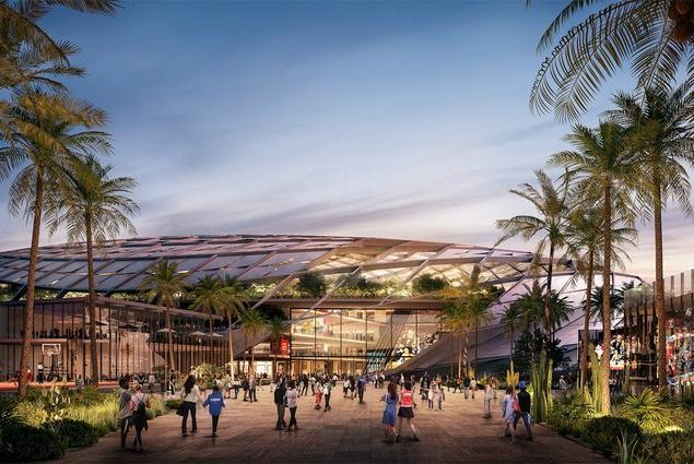 See the design for the Clippers' proposed new arena in Inglewood