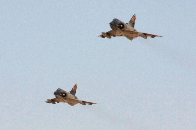 Mirage fighter jets of the Egyptian Air Force (CC/ Matt Enright/ U.S. Marine Corps)