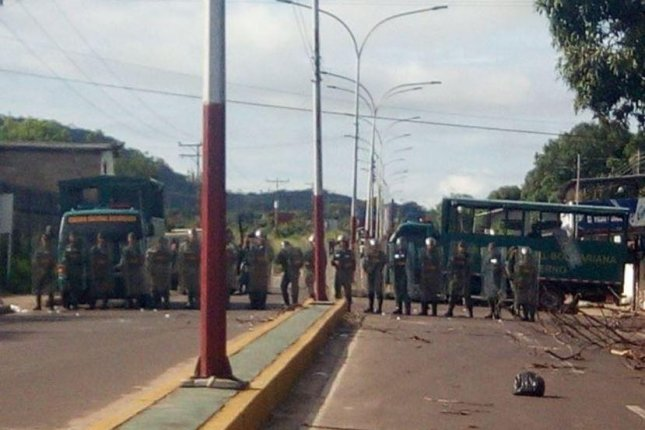 Venezuelan security forces ended a day-long prison riot in the Amazonas state Wednesday, in which at least 37 inmates were killed. Photo courtesy Gov. Liborio Guarulla