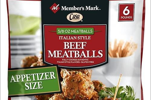 More than 3,000 pounds of beef meatballs are being recalled for possible listeria contamination. Photo courtesy of USDA