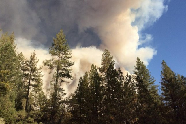 The 18,000-acre Camp Fire was zero percent contained Thursday. Photo courtesy of Cal Fire/Butte County Fire Department