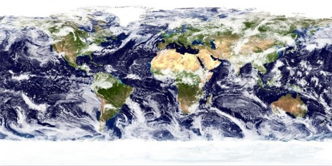World cloud cover. Credit: Wikipedia, Creative Commons