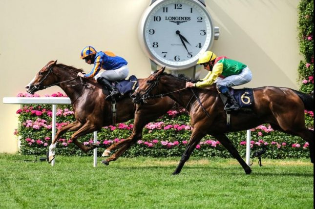Love wins the Group 1 Prince of Wales's Stakes at Royal Ascot. Photo by Megan Ridgwell, courtesy of Ascot Racecourse