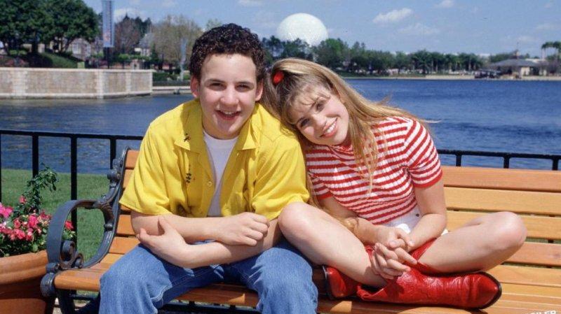 Cory and Topanga forever. (Via zap2it.com)