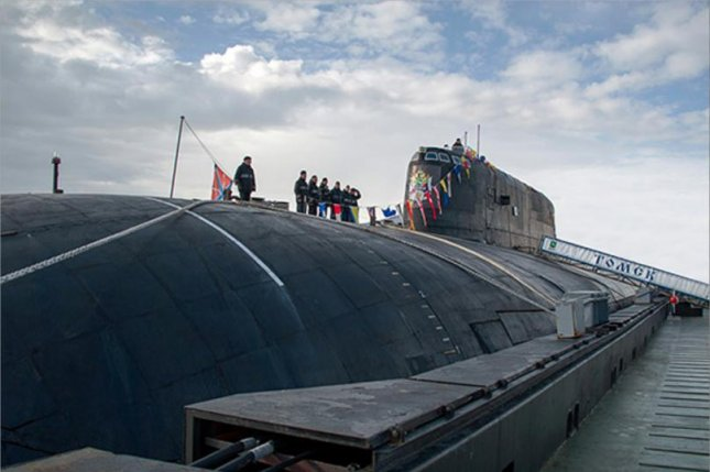 Russia's Antey nuclear submarines will soon be equipped with enhanced navigation and life support systems, in addition to Kalibr missiles. Photo courtesy of the Russian Ministry of Defense