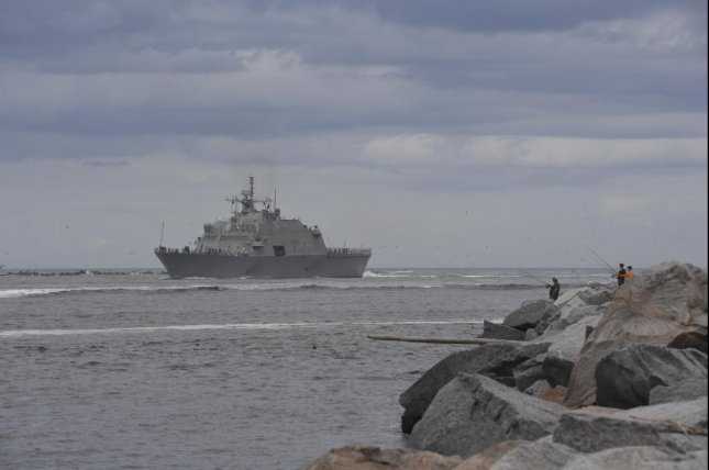 U.S. Navy test fires surface to surface missile module
