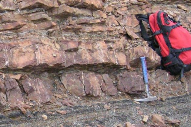More accurate dating of ancient sediment rock layers and zircon crystals proved the Permian-Triassic extinction event was caused by a brief ice age. Photo by H. Bucher/University of Zurich