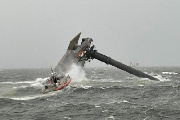 Divers recovered two more bodies Friday from the capsized vessel.Photo courtesy of U.S. Coast Guard