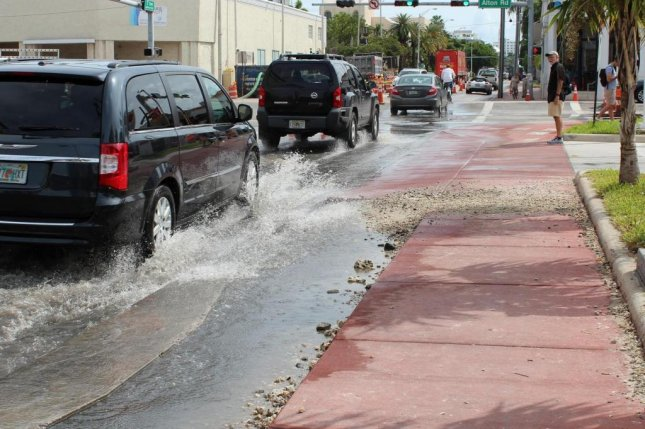 A new study suggests that the East Coast of the United States will see even more frequent severe flooding in the future due to a combination of factors. Photo by Shimon Wdowinski/University of Miami